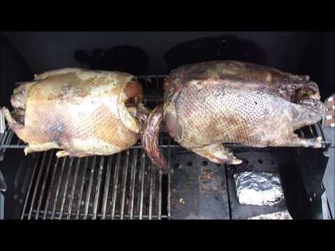 Приготовление дикого гуся