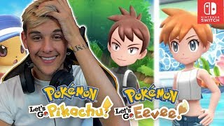 BRAND NEW GAMEPLAY REACTION FOR POKEMON LETS GO PIKACHU & LETS GO EEVEE! (New Features & More)