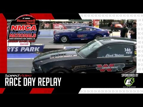 Chuck Watson Makes The Fastest Pass in NMCA Factory Super Cars