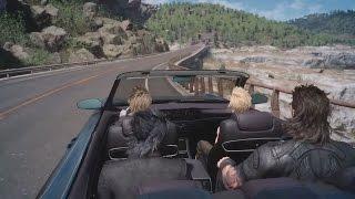 Final Fantasy XV - PAX 2015 Driving Gameplay (Live Stream)