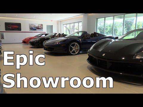 Private tour of the NEW Ferrari of Austin!