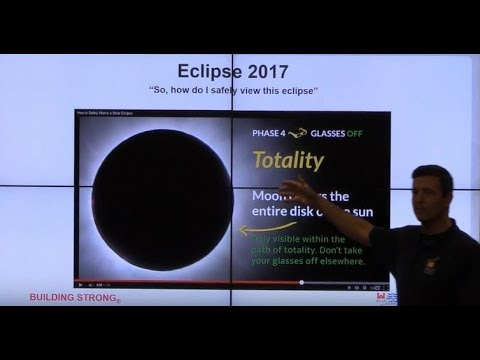 Solar Eclipse Presentation  for  Nashville District, Army Corps of Engineers