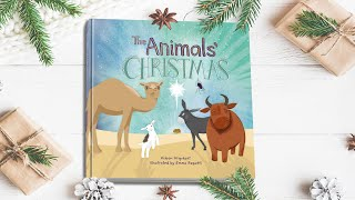 "Nativity Children's book told by the animals - ""The Animals' Christmas"""