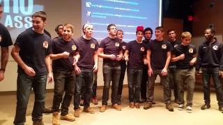 "Otto Tunes kick off #WhoClass with a Surprise A Capella Performance of ""Doctor Who"" Theme"
