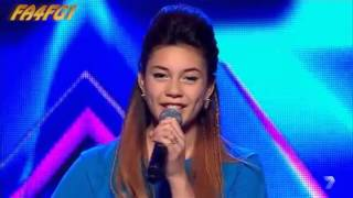 KELEBEK: Good Feeling - The X Factor Australia 2013 - Audition Night #1