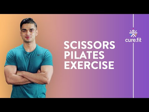 How to do Scissors Pilates Exercise Cult.Fit Cues