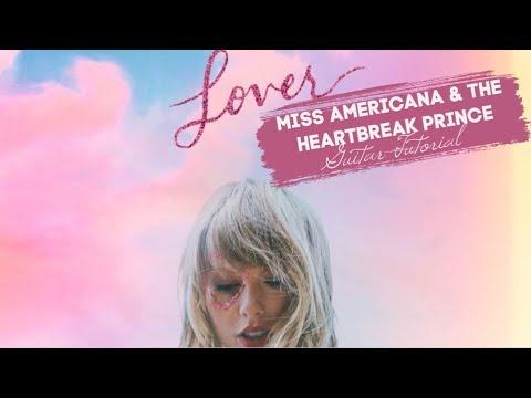 Miss Americana & The Heartbreak Prince - Taylor Swift // Guitar Tutorial thumbnail