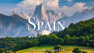 Spain 4K - Scenic Relaxation Film With Calming Music