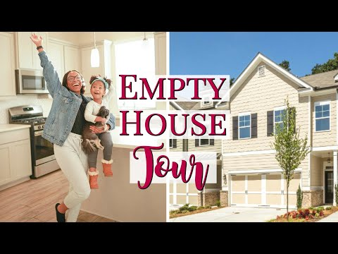EMPTY HOUSE TOUR!!   TAKE A LOOK INSIDE MY BRAND NEW (FIRST) HOME!!