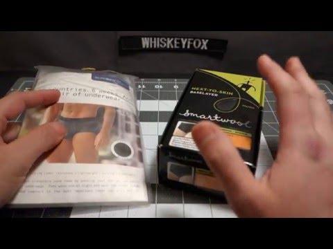 ExOfficio vs Smartwool Underwear