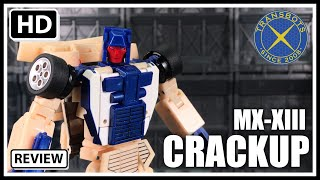 X-Transbots MX-XIII CRACKUP Transformers Masterpiece Stunticon BREAKDOWN