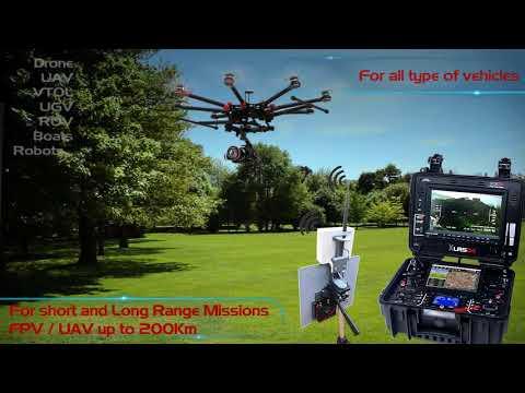 GCSD4 Presentation. Ground Control Station D4 for FPV & UAV