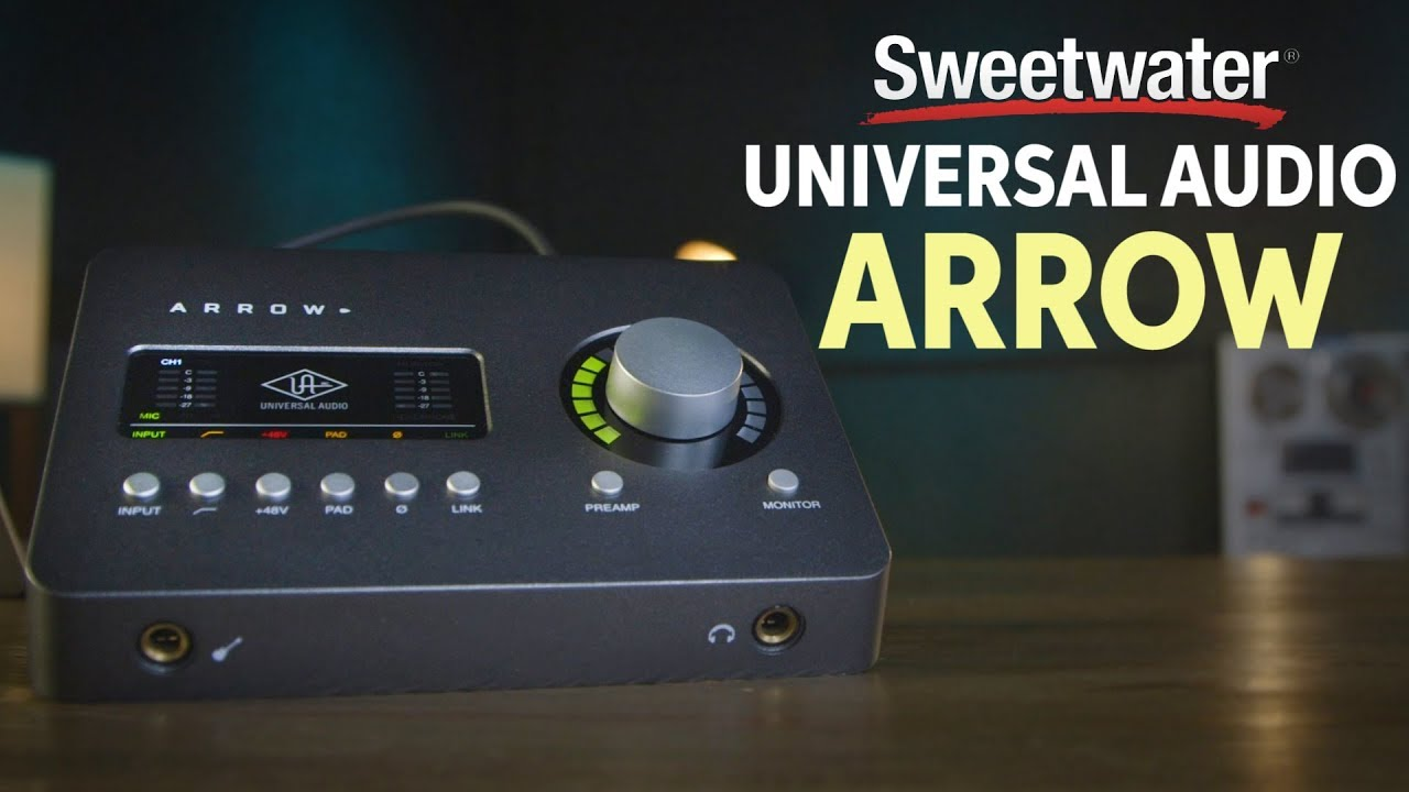 Universal Audio Arrow Audio Interface Review