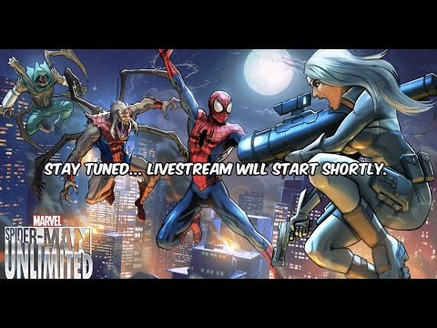 Spiderman Unlimited Silver Sable Livestream