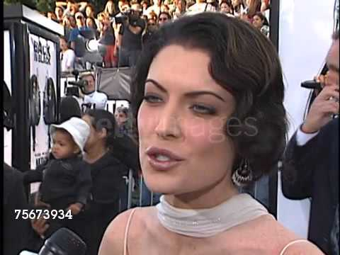 Lara Flynn Boyle Interview 2002 Men In Black 2 Premiere