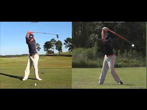 Lucas Wald Before/After Driver Swing