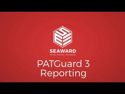 Creating Reports in PATGuard 3 PAT Testing Software