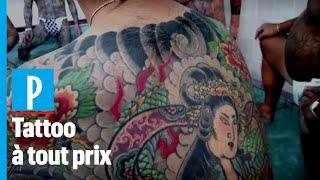 Japon: les adeptes du tatouage luttent contre les tabous