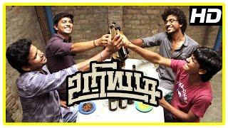 Cover images Uriyadi Tamil Movie Scenes | Vijay Kumar argues with Suruli | Henna | Mime Gopi
