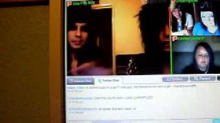 Andy Six and Jake Pitts on Stickam 9-5-10 Pt.14 DOUBLE RAINBOW!!!!!