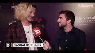Bandalos Chinos en el warm up de los Latin Billboard Music Awards en Buenos Aires