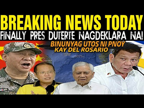 JUST IN BALITA: PRES DUTERTE NAGDEKLARA NA ALL OUT NA! TAPOS MGA PROTEKTOR / DEL ROSARIO / CARPIO -  (2020)