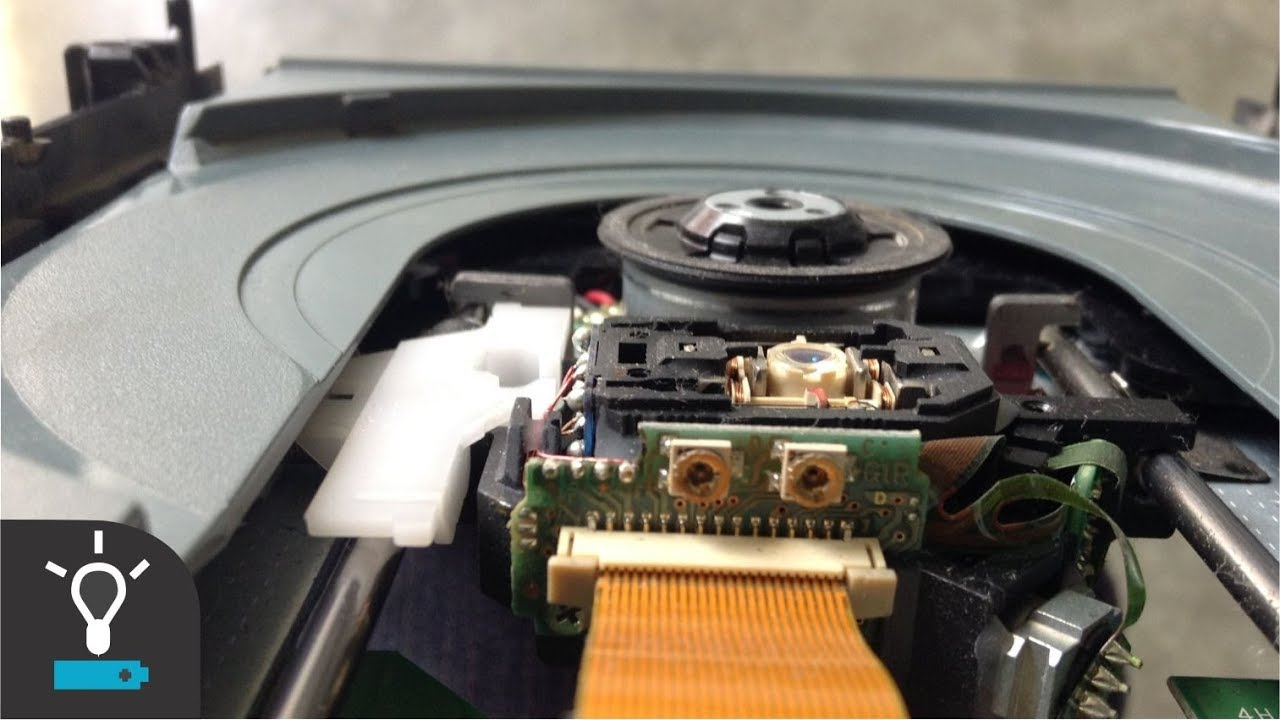 how to open laser xbox 360