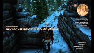 The Witcher 3 поиск брони школы медведя (обычный серебрянный меч)