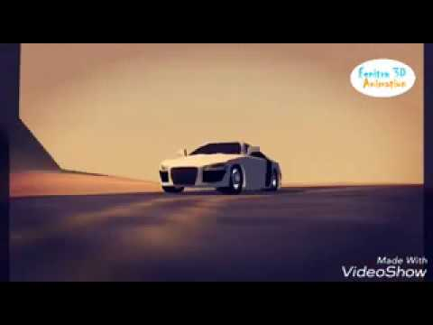 Audi R8 car 3d animation by Fenitra - animated using anim8or