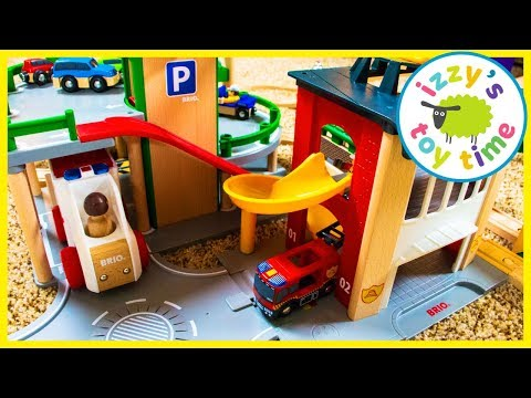 Happy 4th Birthday Bubs! Brio Firestation with Thomas and Friends and Firetrucks!