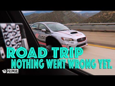 Nothing went wrong yet - Bay Area Road Trip Vlog SmurfinWRX