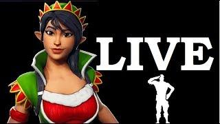 NEW TINSELTOES ELF Skin!! (Fortnite Live Gameplay)