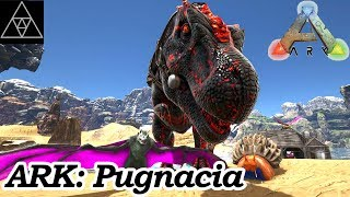 Taming frenzy! Conflagrant T-Rex! Schnecki & Fledermaus! ►Modded ARK Pugnacia #06