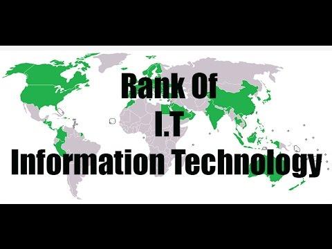 Information Technology Ranking In Wolrd