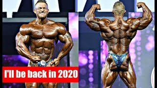 Flex Lewis Confirms he'll compete in 2020 Open Olympia