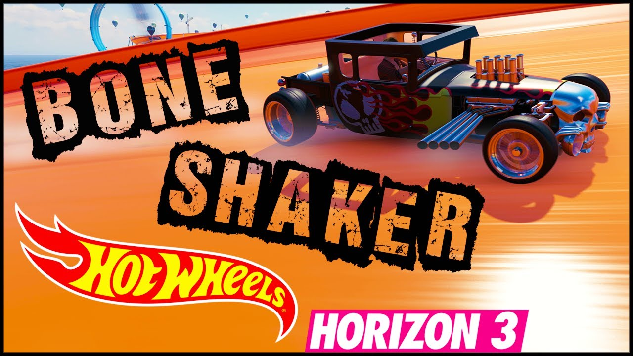 Nueva Marca Hot Wheels Bone Shaker Forza Horizon 3