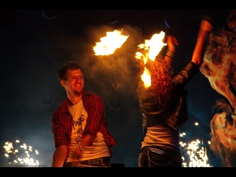 🔥 Partner Poi Performance - PUNK ANOTHER CAMERA (fire by Stefan&Kate) @Russian East Fire Fest 2014 🔥