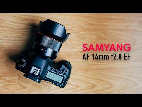 Objetivo Samyang AF 14mm f2.8 EF - Review en Español | David López