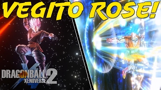 Vegito Rose vs Gotama! | Dragon Ball Xenoverse 2 PC Mods