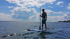 Stand Up Paddleboarding SUP in Kingston, Ontario, Canada