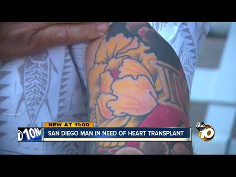 San Diego dad needs heart transplant