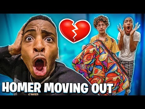 HOMER AND JAZZ IS MOVING OUT! 💔