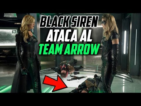 Arrow 6x01 Black Siren TIENE UNA BANDA, Raisa TUTORA de William, Black Siren vs Black Canary y Más!