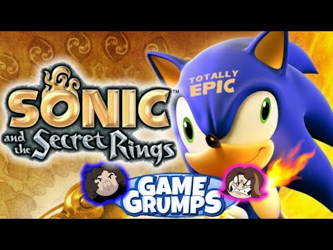 Best of Sonic and The Secret (Scring) Rings/Funny Moments-Game Grumps Compilation