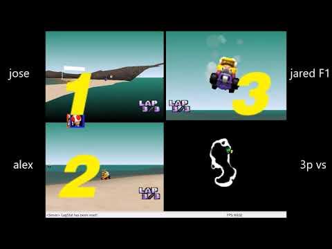 3p Vs - Mushroom, Flower Cup & WS - Jose Vs Jared F1 Vs Alex