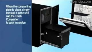 Broan Elite & Broan Elite Xe Trash Compactors - Easy To Clean From Opentip.com