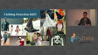 Michael Sugimura: Computer Vision and NLP for Multi-Task Fashion Attrb. Modeling |PyData London 2019