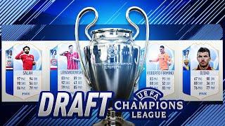 DRAFT PÓŁFINALISTÓW LIGI MISTRZÓW! WALKOUT! | FIFA 18
