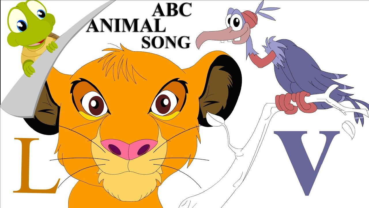 ABC animals song YouTube