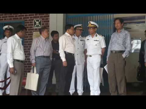 Honorable Secretary, Ministry of Shipping & other high officials at National Maritime Institute.